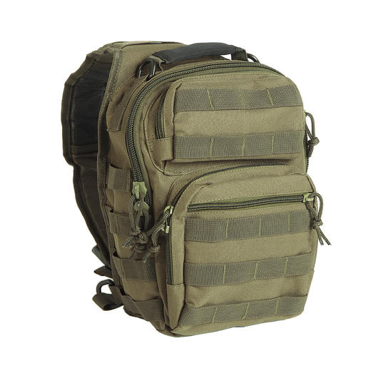Mil-Tec Rucksack One Strap Assault Pack small 8L oliv