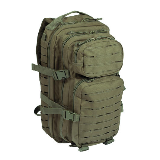 Mil-Tec Rucksack US Assault Pack Laser Cut small 20L oliv