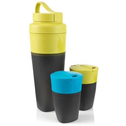 Pack-Up-Drink Kit Lime/Blau