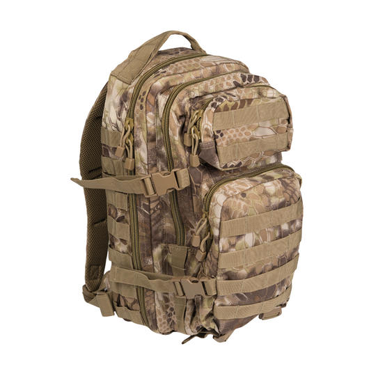 Mil-Tec Rucksack US Assault Pack I 20 Liter mandra tan