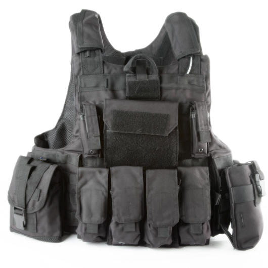 101 INC. Raptor Tactical Vest schwarz
