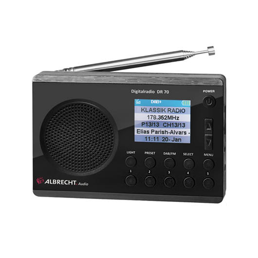 Albrecht DR 70 Digitalradio