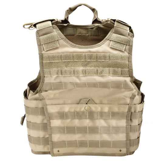 Condor Exo Plate Carrier S/M Coyote