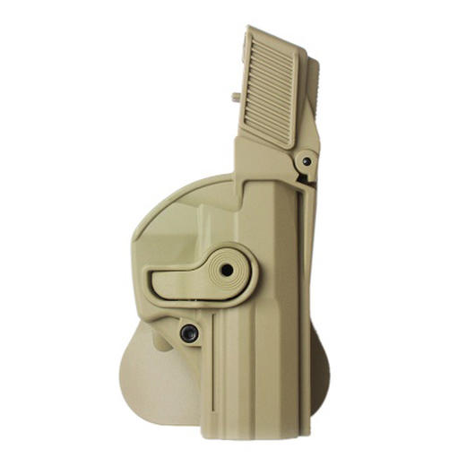 IMI Defense Level 3 Holster Kunststoff Paddle für H&K USP Full Size tan