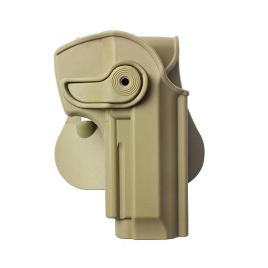 IMI Defense Level 2 Holster Kunststoff Paddle für PT 92 Modelle tan