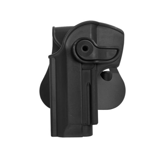 IMI Defense Level 2 Holster Kunststoff Paddle Beretta 92 Modelle Links schwarz