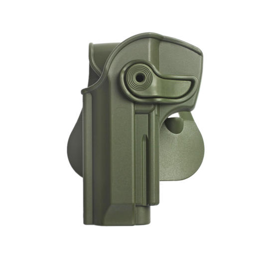 IMI Defense Level 2 Holster Kunststoff Paddle für Beretta 92 Modelle Links OD