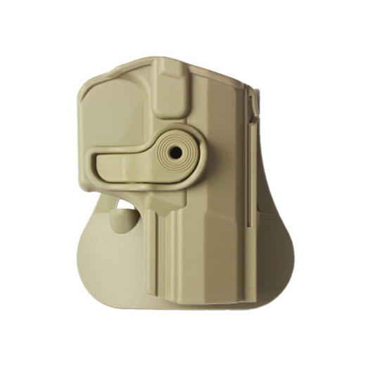 IMI Defense Level 2 Holster Kunststoff Paddle f�r Walther PPQ tan