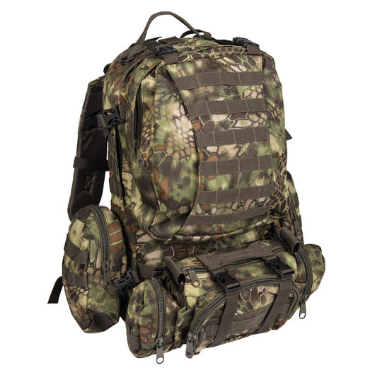 Mil-Tec Rucksack Defense Pack Assembly 36 ltr. mandra wood