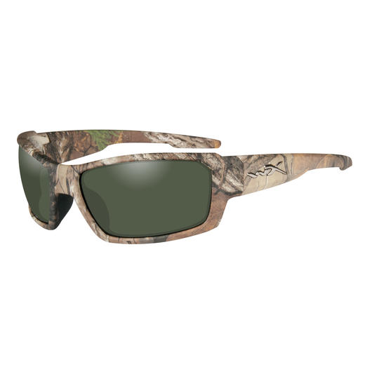Wiley X Brille Rebel Realtree Xtra Camo rauchgrün polarisiert