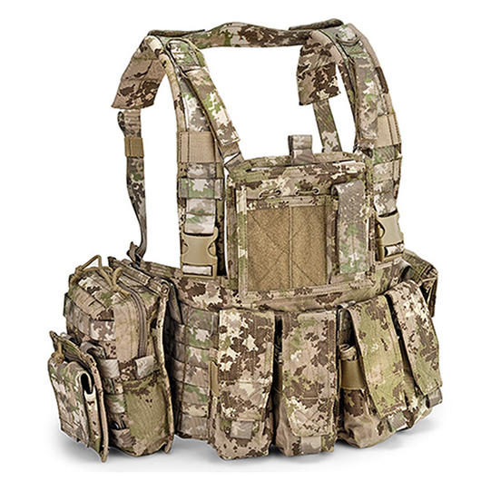 Defcon 5 Chest Rig Brustgeschirr Multiland Camo