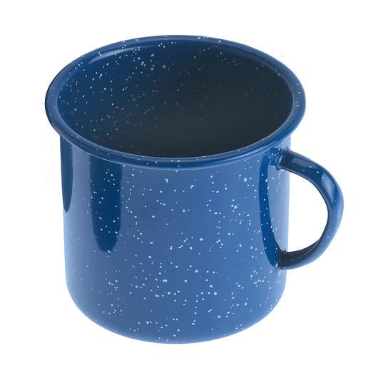 GSI Tasse Emaille 700 ml blau