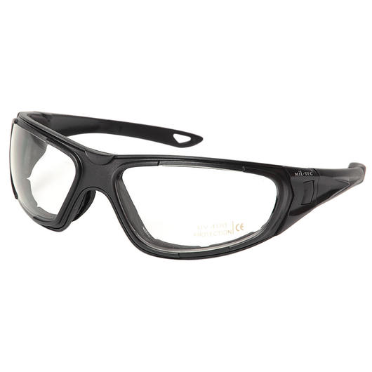 Mil-Tec Brille Tactical Goggle 3in1 schwarz