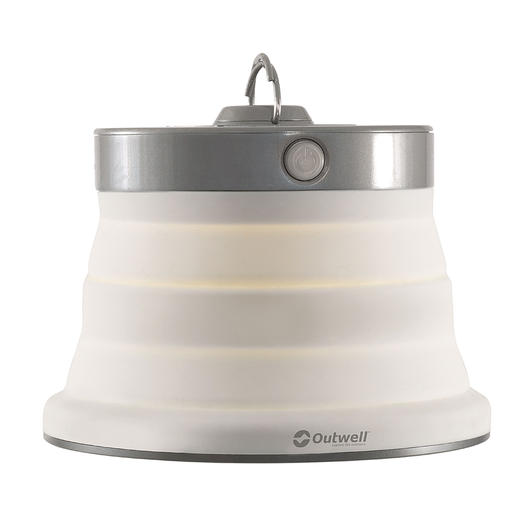 Outwell LED Lampe Polaris faltbar cream white