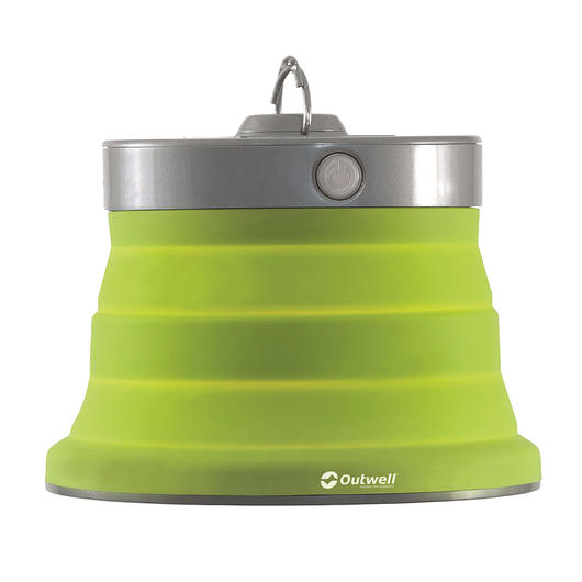 Outwell LED Lampe Polaris faltbar lime green