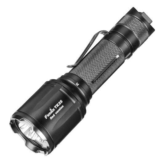 Fenix LED Taschenlampe TK25 rote und weiße LEDs 1000 Lumen günstig ...