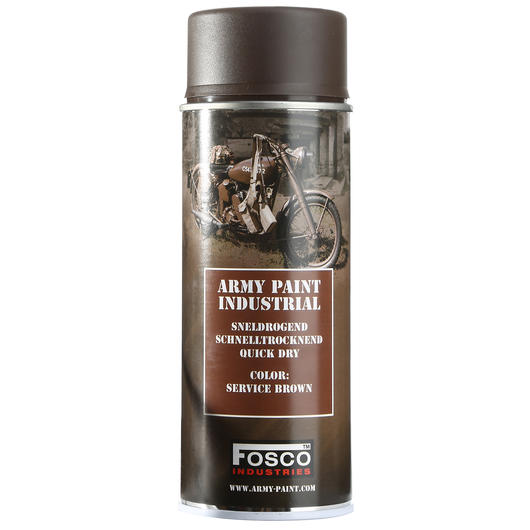 Army Paint Sprühfarbe, service brown