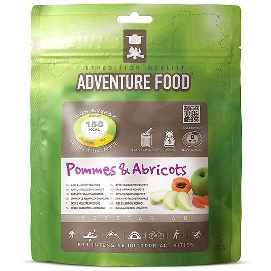 Adventure Food Apfel Aprikosen Kompott Einzelportion