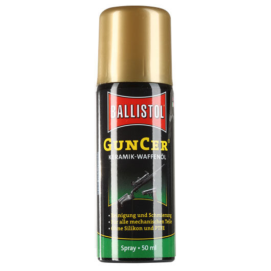 Ballistol GunCer Keramik Waffenöl Spray 50 ml