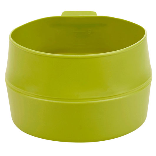 Wildo Fold-a-Cup Trinkbecher faltbar 600ml lime