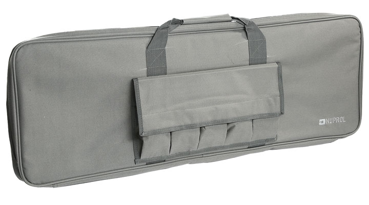 Nuprol 36 Zoll / 92 cm PMC Essentials Soft Rifle Bag / Gewehr-Futteral grau