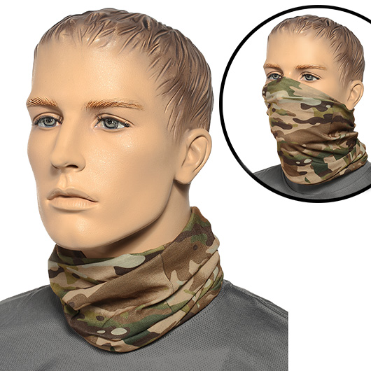 Brandit Herren Multifunktionstuch Tactical Camo