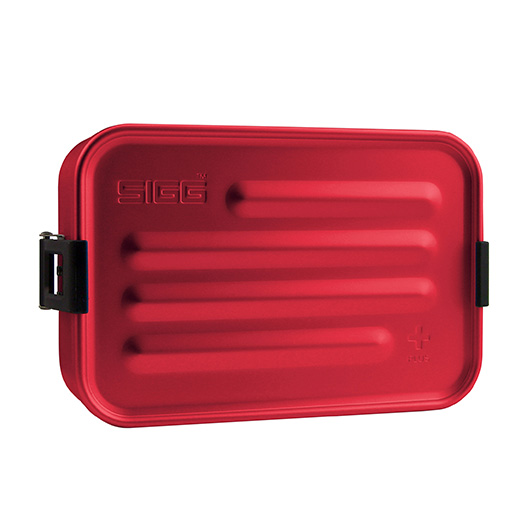 SIGG Metall Box Plus S rot Food Box