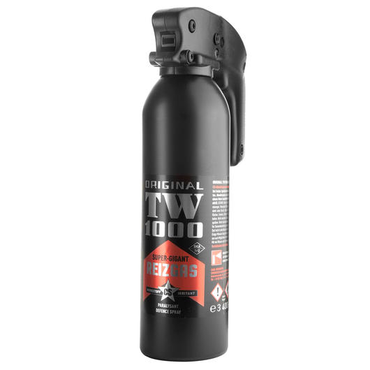 Abwehrspray TW1000 CS-Gas Spray Super-Gigant, 400ml