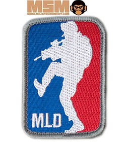 Mil-Spec Monkey Major League Doorkicker Patch Farbig