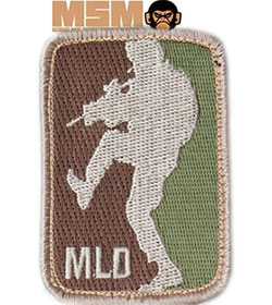 Mil-Spec Monkey Major League Doorkicker Patch Arid