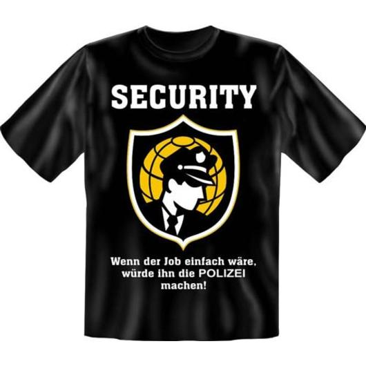 T-Shirt ''Security''