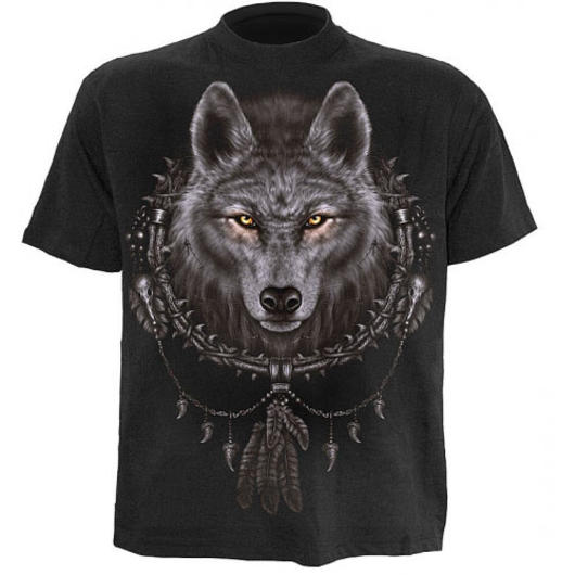 Spiral T-Shirt, Wolf dreams