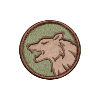 Mil-Spec Monkey Wolf Head Patch Multicam 0