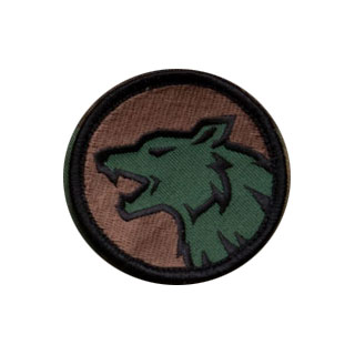 Mil-Spec Monkey Wolf Head Patch Forest 0
