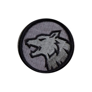 Mil-Spec Monkey Wolf Head Patch ACU-Dark 0