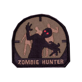 Mil-Spec Monkey Zombie Hunter Patch Forest 0