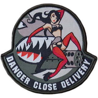 Mil-Spec Monkey Danger Close Delivery Patch SWAT 0