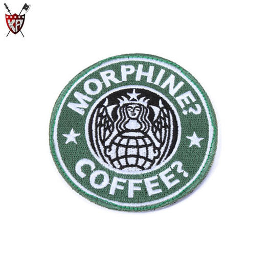 King Arms USAF PJ Morphine & Coffee Patch oliv