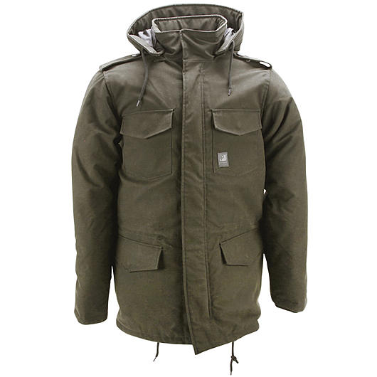Vintage Industries Darren Parka oak
