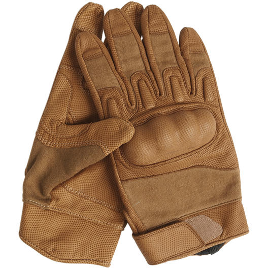 Nomex Actionhandschuhe ohne Stulpe coyote