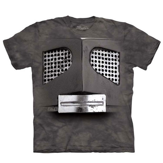 Mountain T-Shirt Big Face Robot
