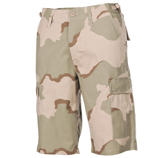 MFH Shorts Bermuda US BDU Ripstop 3-color-desert