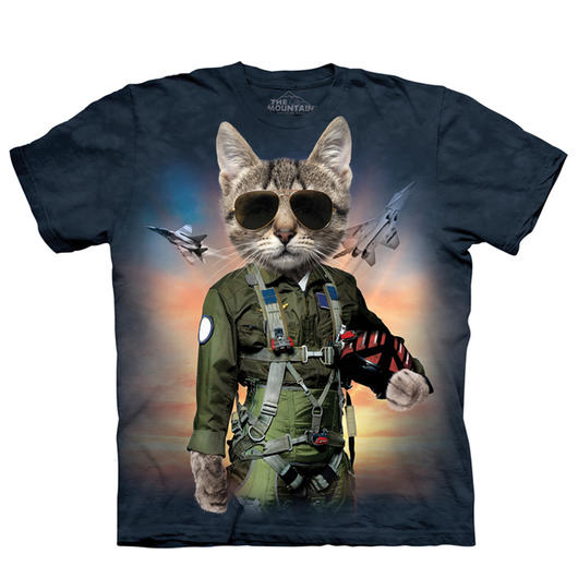 Mountain T-Shirt Tom Cat
