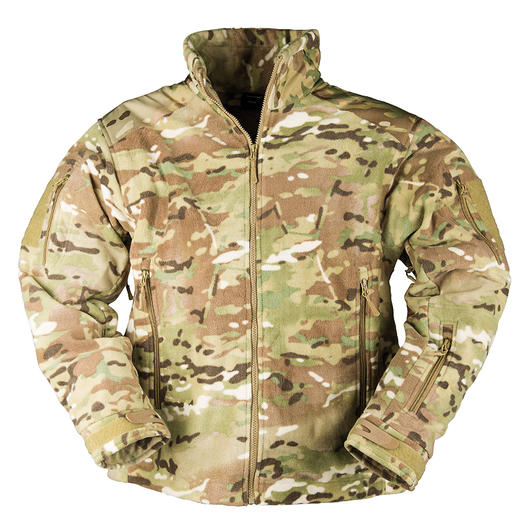 Mil-Tec Fleecejacke Delta Jacket multitarn
