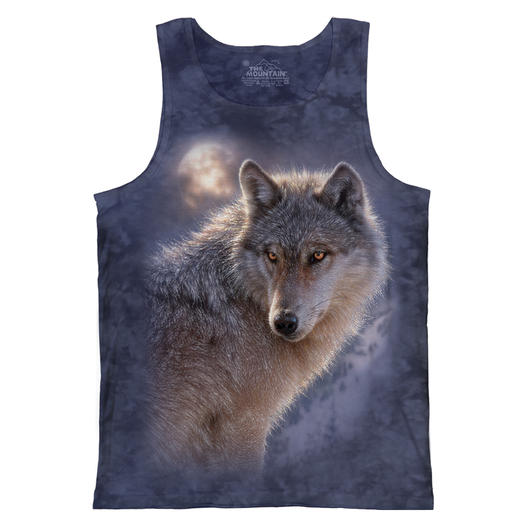 Mountain Tank Top Adventure Wolf