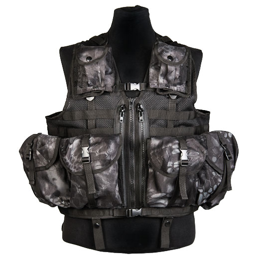 Mil-Tec Weste Tactical Modular System Mandra Night