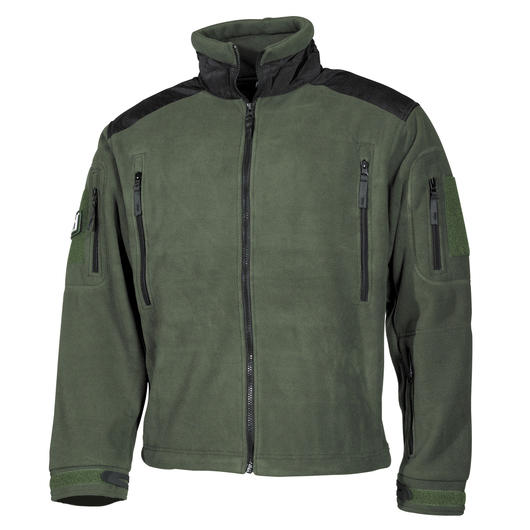 MFH Fleece Jacke Heavy Strike Oliv