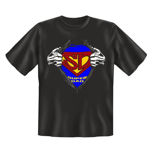 Rahmenlos T-Shirt Super Dad