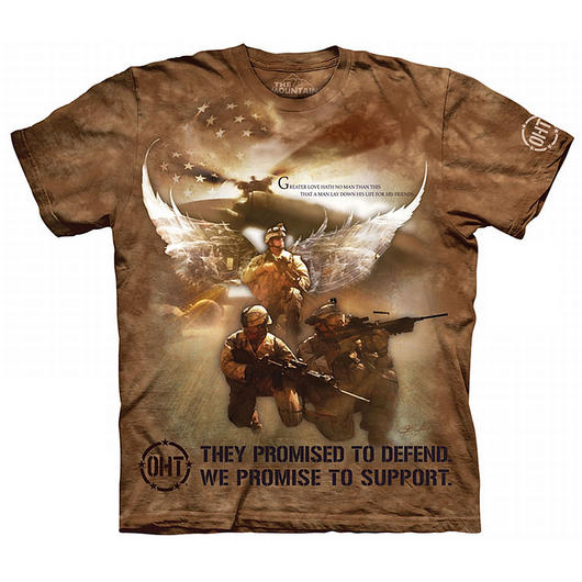 The Mountain T-Shirt Combat Soldiers Oht-Hero