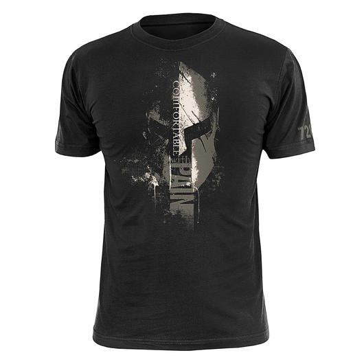 720gear T-Shirt Comfortable Pain schwarz